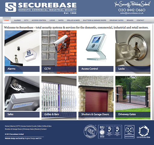Securebase Wordpress website