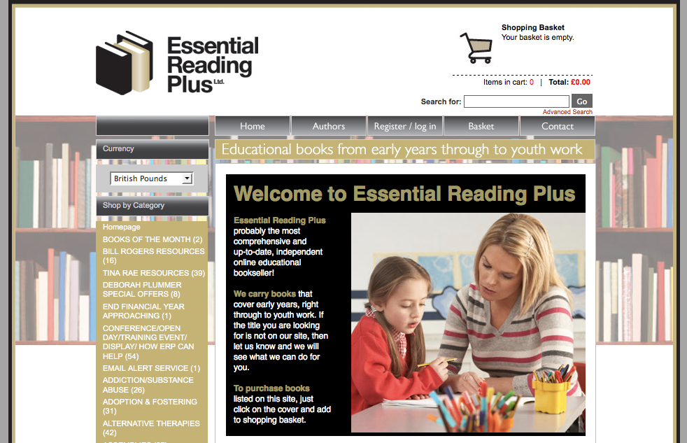 Essential Reading Plus - DJA (London Website Developers)