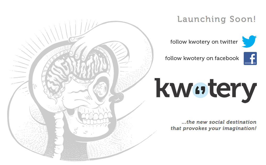 kwotery blog launch